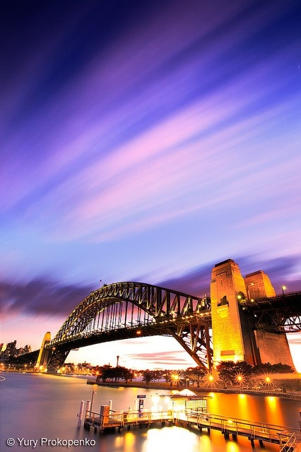Sydney Harbour Bridge, Australia - one of the top 5 photos of bridges for #TravelPinspiration on our blog: http://www.ytravelblog.com/travel-pinspiration-pinterest-bridges/