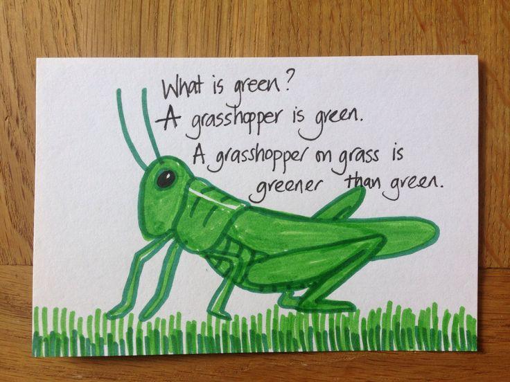 Day 38: green