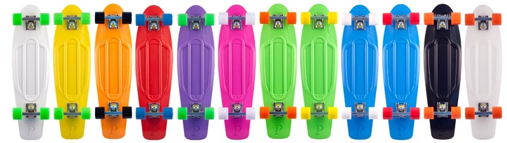 The Nickel Board by Penny Skateboards...what Ainslie wants for Christmas. EEK!