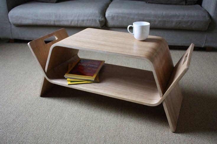 журнальный стол из фанеры фото