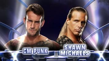 It's a dream match for the ages: CM Punk vs. Shawn Michaels! Check out this must-watch mash-up video of what this fantasy bout would look like.