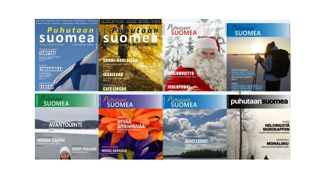 """Puhutaan suomea"" - ""Let's Speak Finnish"" Magazine by Florin Dimulescu 