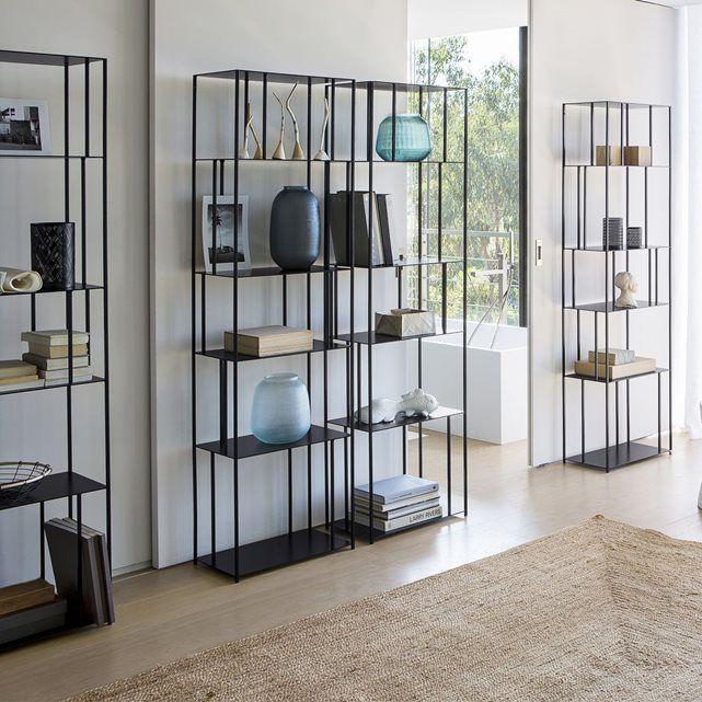 les 25 meilleures id es tendance biblioth que en m tal sur pinterest bricolage de. Black Bedroom Furniture Sets. Home Design Ideas