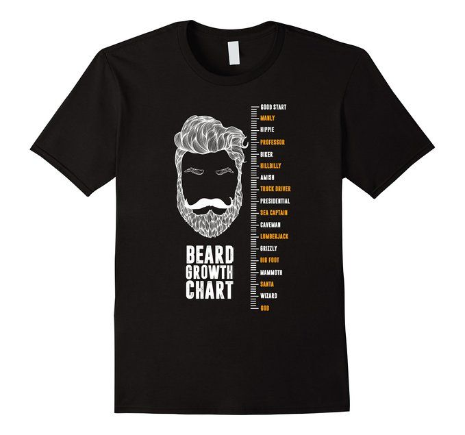 Is your beard getting the respect that it deserves? Get this shirt and see how it measures up. This Funny and awesome shirt will measure your beard and let you know what your beard length means.