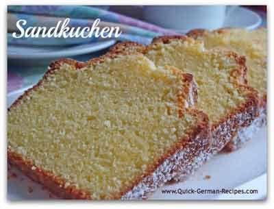 Sandkuchen (The Best German Pound Cake) Recipe