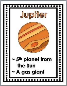 Solar System Poster Set (Sun, Moon, Planets)
