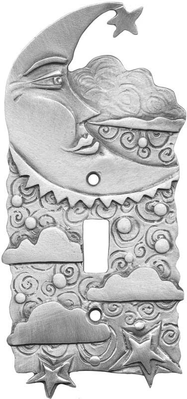 CRESCENT MOON Switch Plates, Outlet Covers & Rocker Switchplates