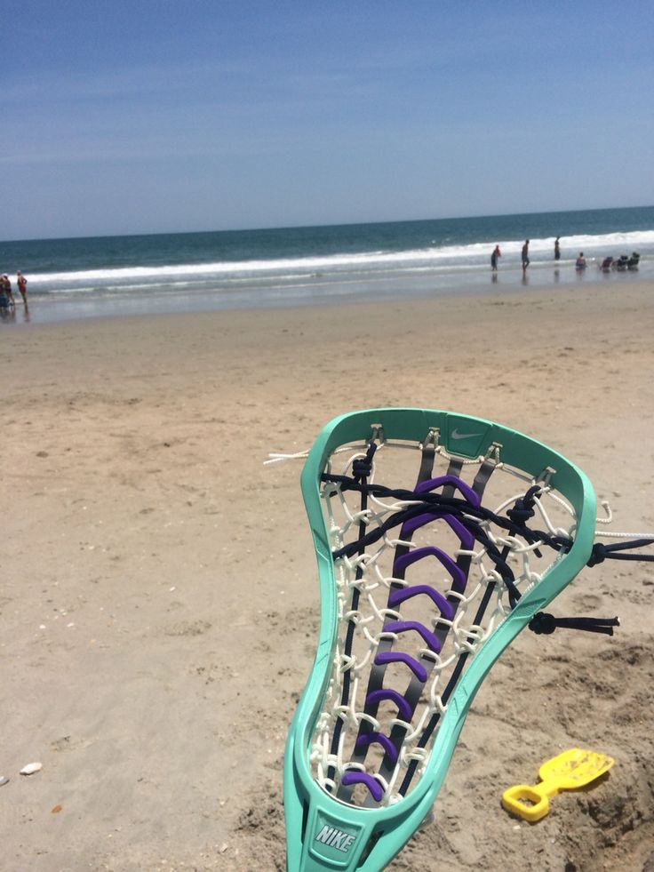 Lacrosse on the beach is a must