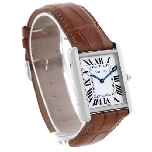 Searching for a Pre-Owned Cartier Tank Solo W1018355 in Stock. Crown & Caliber offers only the finest in pre-owned, used luxury watches from brands like Cartier. Find your next Cartier watch online with Crown & Caliber.