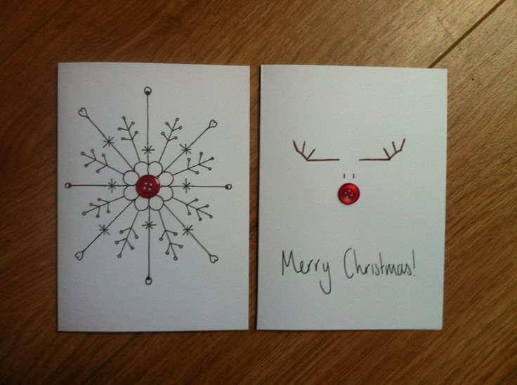 Crafty Christmas Cards | Through The Magic Door