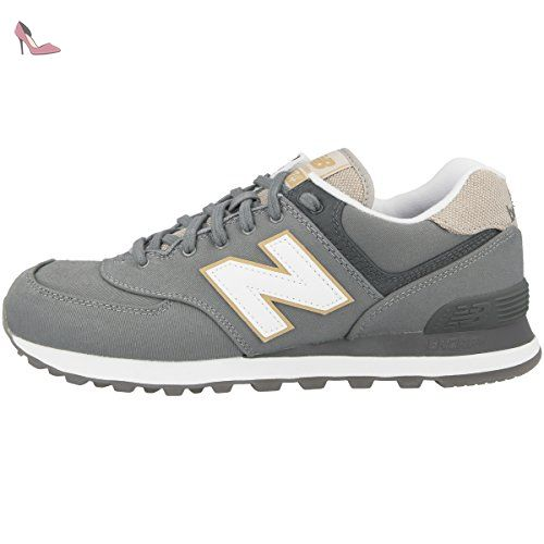 NEW BALANCE ML574-RTD d Baskets Homme, grau / weiß / beige - Chaussures new balance (*Partner-Link)