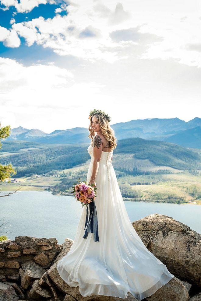 Superieur Dreamy Colorado Outdoor Mountain Wedding
