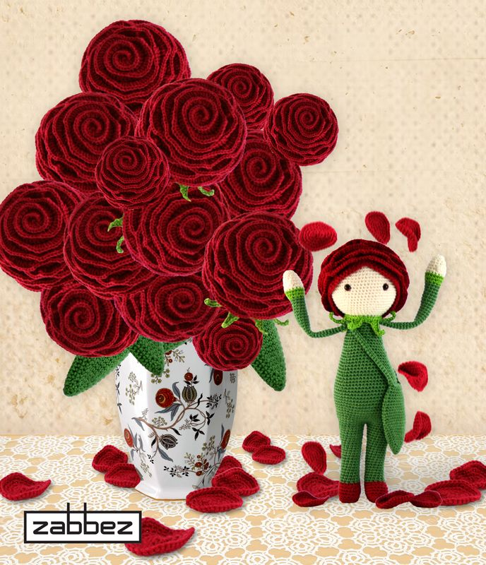 Zabbez Crochet Patterns : ... what ever this is crochet pattern to buy crochet flower doll see more