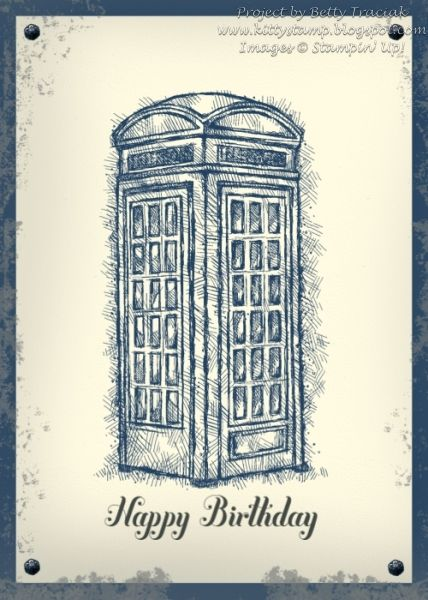 Dr Who Birthday Card by kittystamp - Cards and Paper Crafts at Splitcoaststampers