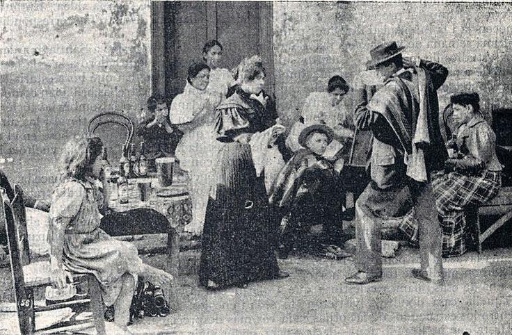 La Cueca Chilena Fotografia de 1900.