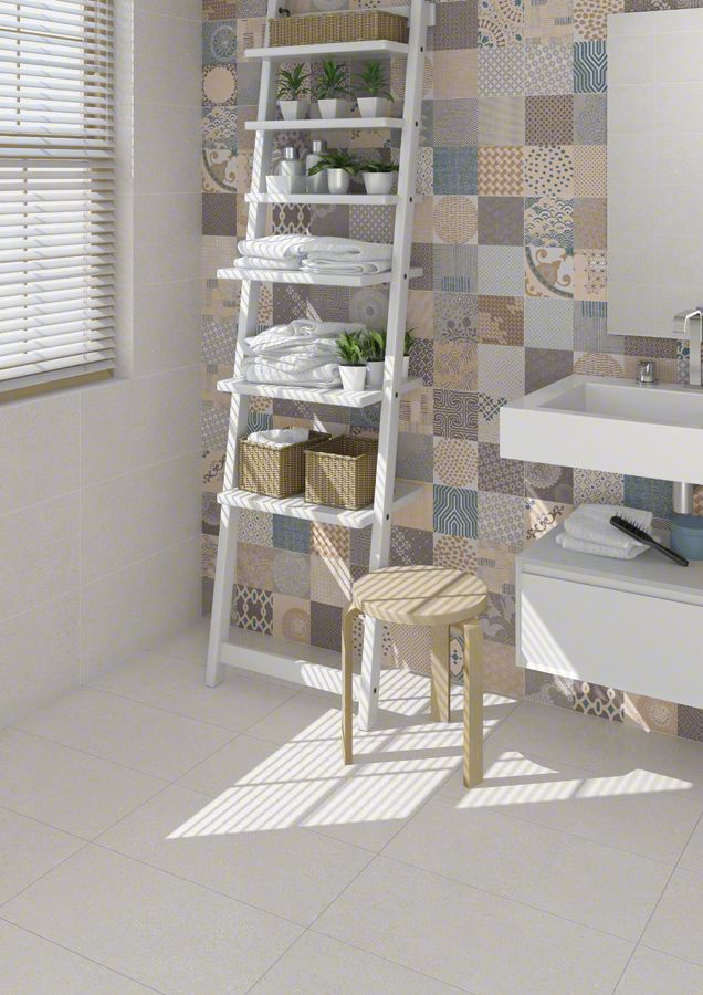 PORCELAIN TILES: ALPHA | VIVES Azulejos y Gres S.A. #porcelain #tile #bathroom