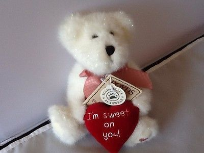 Boyds Bear Plush Emma M. Sweetstuff With Tag 2003 Retired 9698HM Jointed