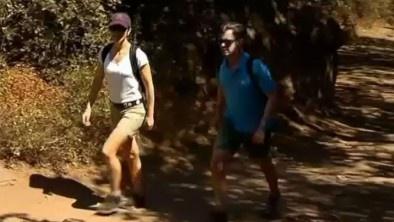 TV 2 Nyhederne: Frederik og Mary på bjergvandring