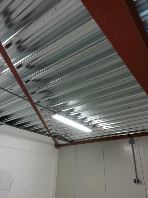 Plafond schoon gemaakt