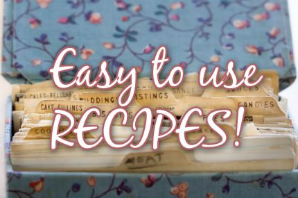 Recipes using food storage (i.e. wheat, powered eggs, milk, butter, dehydrated foods, etc.): Food Storage Recipe