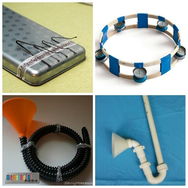 20 DIY Musical Instruments