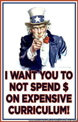 No Expensive Home School Curriculum!