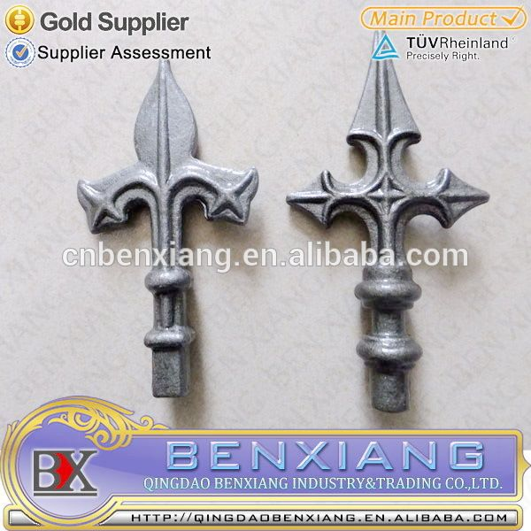 Look what I found Via Alibaba.com App: - wrought iron spear,forged and cast wrought iron spear item code 40.100