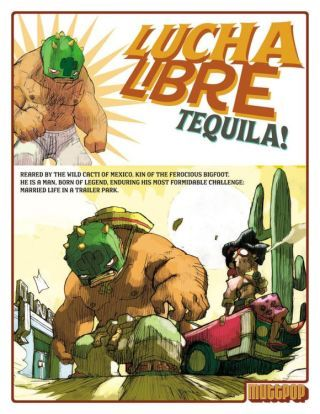 lucha libre comics | Castle Crashers: The Lucha Libre Connection