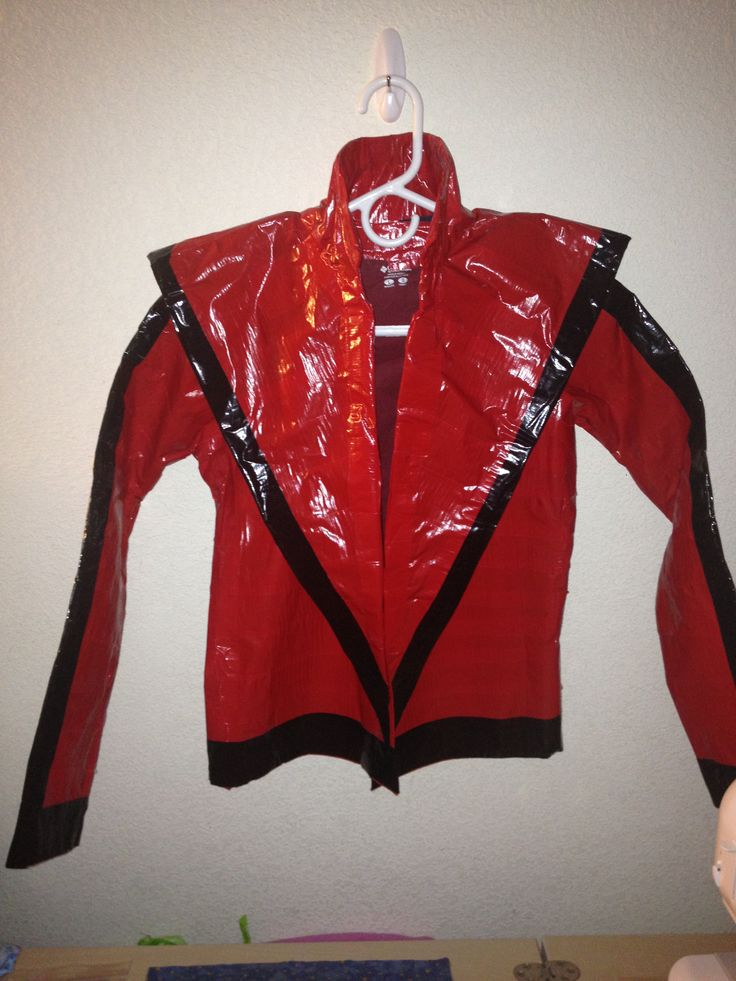 Michael Jackson Thriller Jacket I Made From Duck Tape