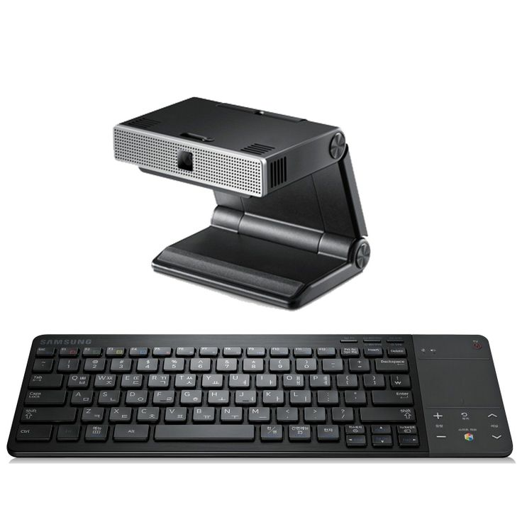 [SAMSUNG] 3D Smart TV Accessory Double Package:Bluetooth Keyboard+Skype Web Cam