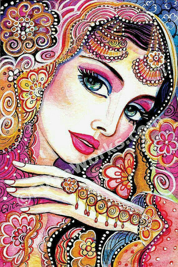 Indian Woman-EvitaWorks