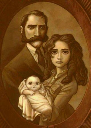 Tarzan's family portrait.