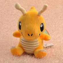 Pokemon Peluche Dragonite 16 cm Cute colección suave del Animal relleno de la muñeca Pokemon juguetes de Peluche para los niños regalo de Peluche Pokemon(China (Mainland))