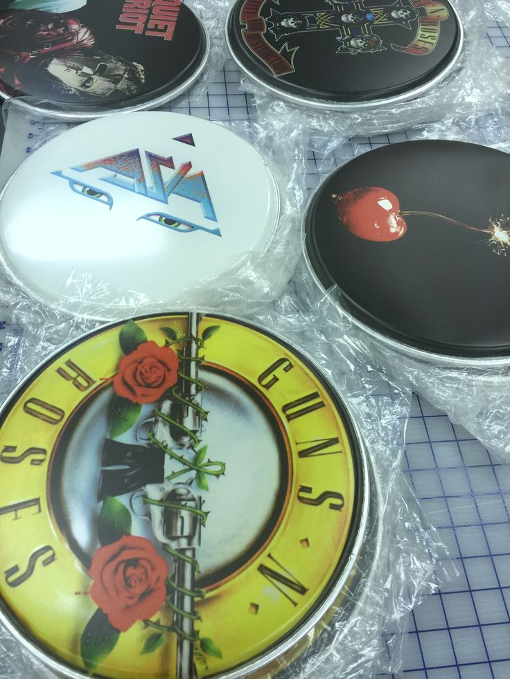 Custom Drum Heads by Brand O' Guitar Company