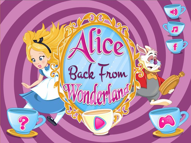 Cute Alice was enjoying a great summer day, reading one of her favorite books, at the shadow of an old tree. The rabbit appears in a hurry and entered a tree cave. Alice decided to follow him inside and learn why he is such a hurry in this great day. Start the very fun adventure game called Alice Back From Wonderland and discover all of the hidden challenges.