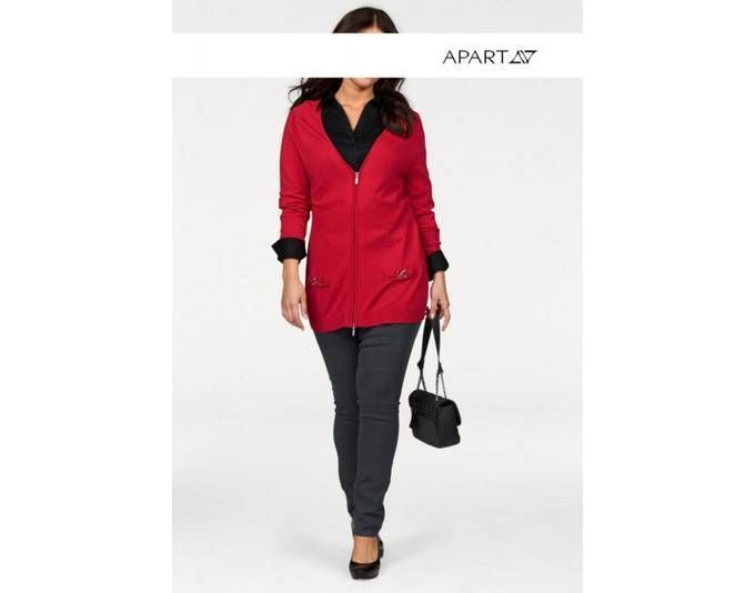 Apart Damen Strickjacke, rot Jetzt bestellen unter: https://mode.ladendirekt.de/damen/bekleidung/strickjacken-und-maentel/strickjacken/?uid=8e6b4f4f-56c9-5778-96af-0681d420b7b6&utm_source=pinterest&utm_medium=pin&utm_campaign=boards #strickjacken #bekleidung #maentel