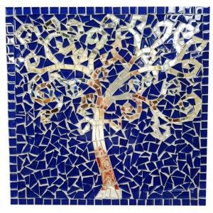 Mosaic Project- SILVER TREE OF LIFE R250