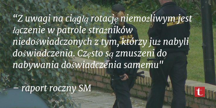 Praca #StrażMiejska w #Szczecinek. Fakty.