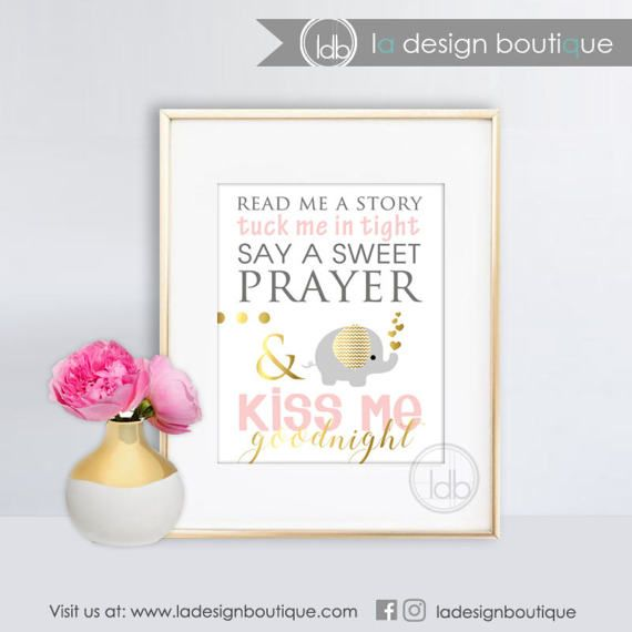 Read Me a Story Tuck me in Tight Children Decor, Nursery Art, Nursery Wall Art Inspirational Printable Wall Art INSTANT DOWNLOAD Only