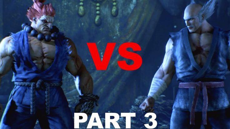 Tekken 7 Akuma VS Heihachi Fight Story Gameplay PS4 Part 3 Chapter 8-Cha...