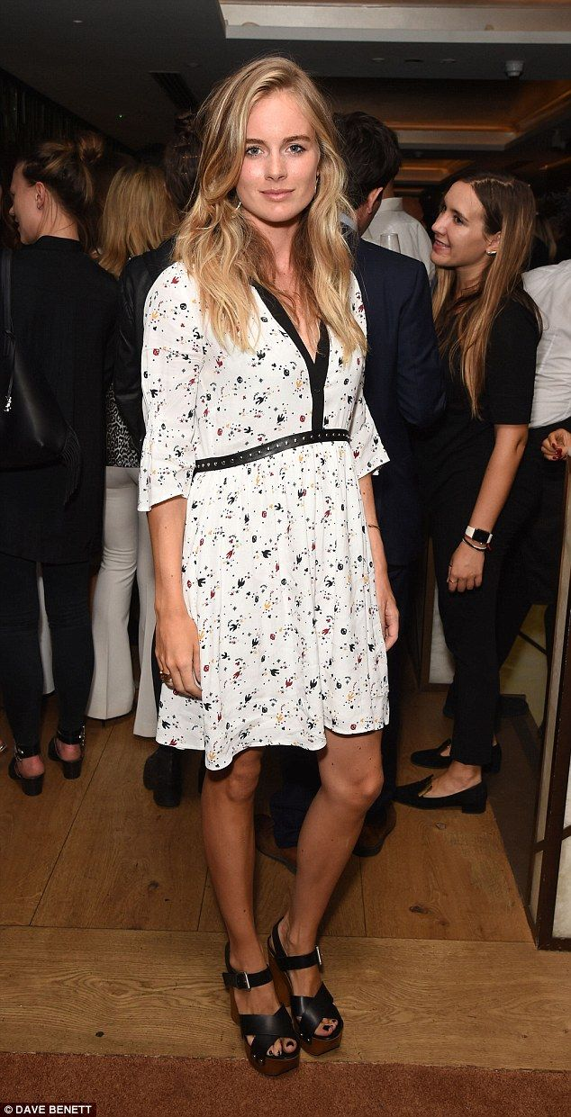 """Keep it chic in a dress by Maje like Cressida Bonas  Click """"Visit"""" to buy #DailyMail"""