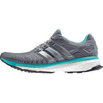 adidas Women's Energy Boost 2 ATR Running Shoe - tech grey f12/metallic  silver/