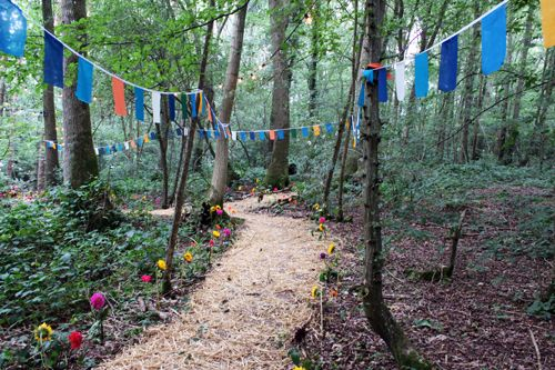 'In the Woods' Festival in Kent