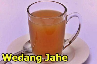 Resep Wedang Jahe Hangat Dan Manis. Menghangatkan tubuh.