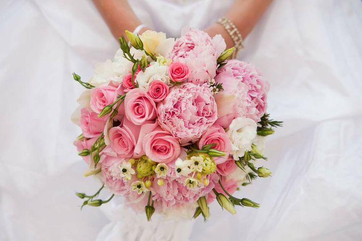 Menyasszonyi csokor rózsaszín