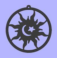 cnc plasma art files,custom dxf files,cnc diy,dxf file,cnc plasma art files,dxf art,Sun Moon Star,gallery