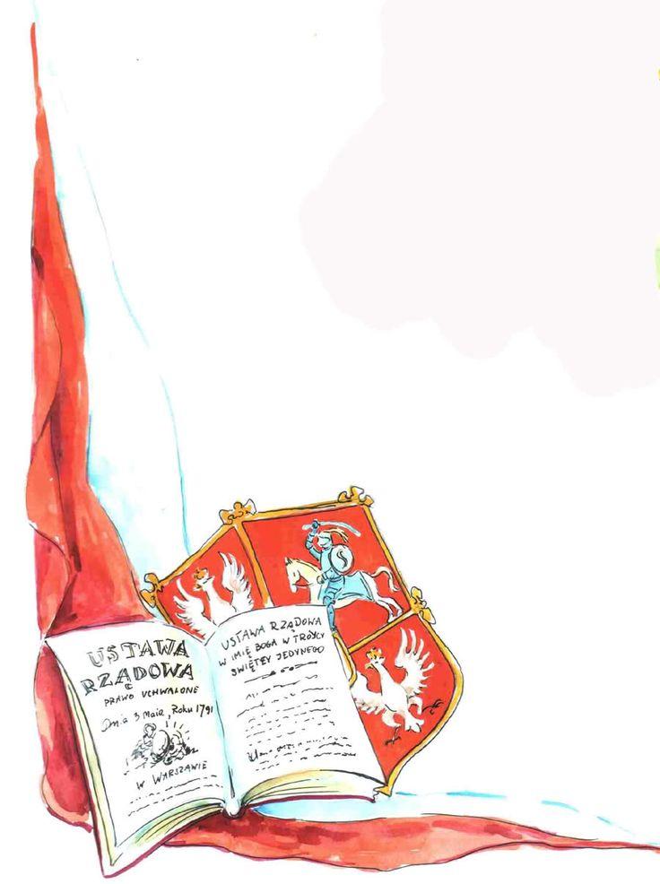 Znalezione obrazy dla zapytania konstytucja 3 maja plakat