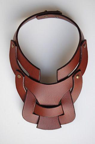 Anuk Harvey Leather Necklace http://worldsno1model.com/wp-content/uploads/2013/07/Anuk-Harvey4.jpg