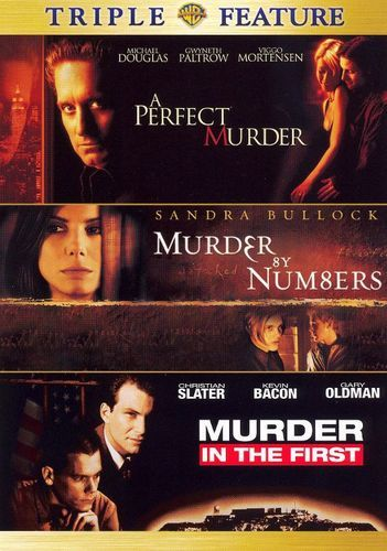 A Perfect Murder/Murder By Numbers/Murder in the First [2 Discs] [DVD]