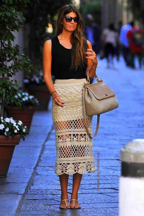 crochet pattern skirt